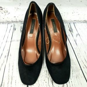 Business Classy Unique Zara Black Heels